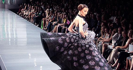Неделя высокой моды в Париже 2013