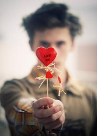 Валентинка - лучший подарок на день влюбленных