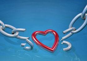 Разлюбить парня так же просто как порвать стальную цепь