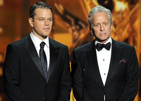 Мэтт Дэймон и Майкл Дуглас - победители Emmy Awards 2013