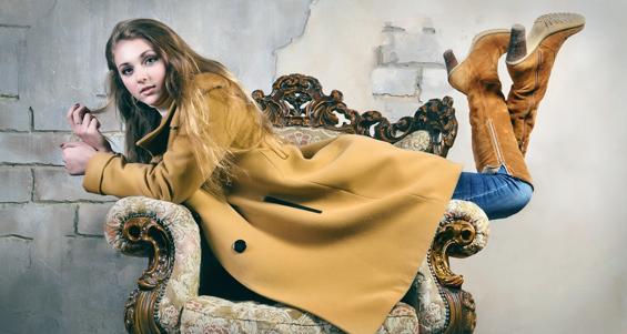 Женское пальто, стильные модели и фасоны