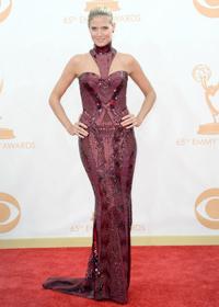 Хайди Клум на церемонии Emmy Awards 2013