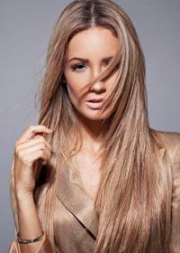 Стрижка для густых длинных волос