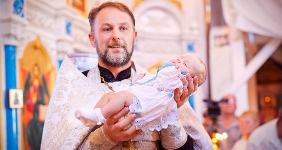 Как правильно крестить ребенка
