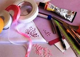 Как сделать открытку из бумаги на день влюбленных